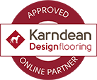 Karndean Approved Online Retailer Badge
