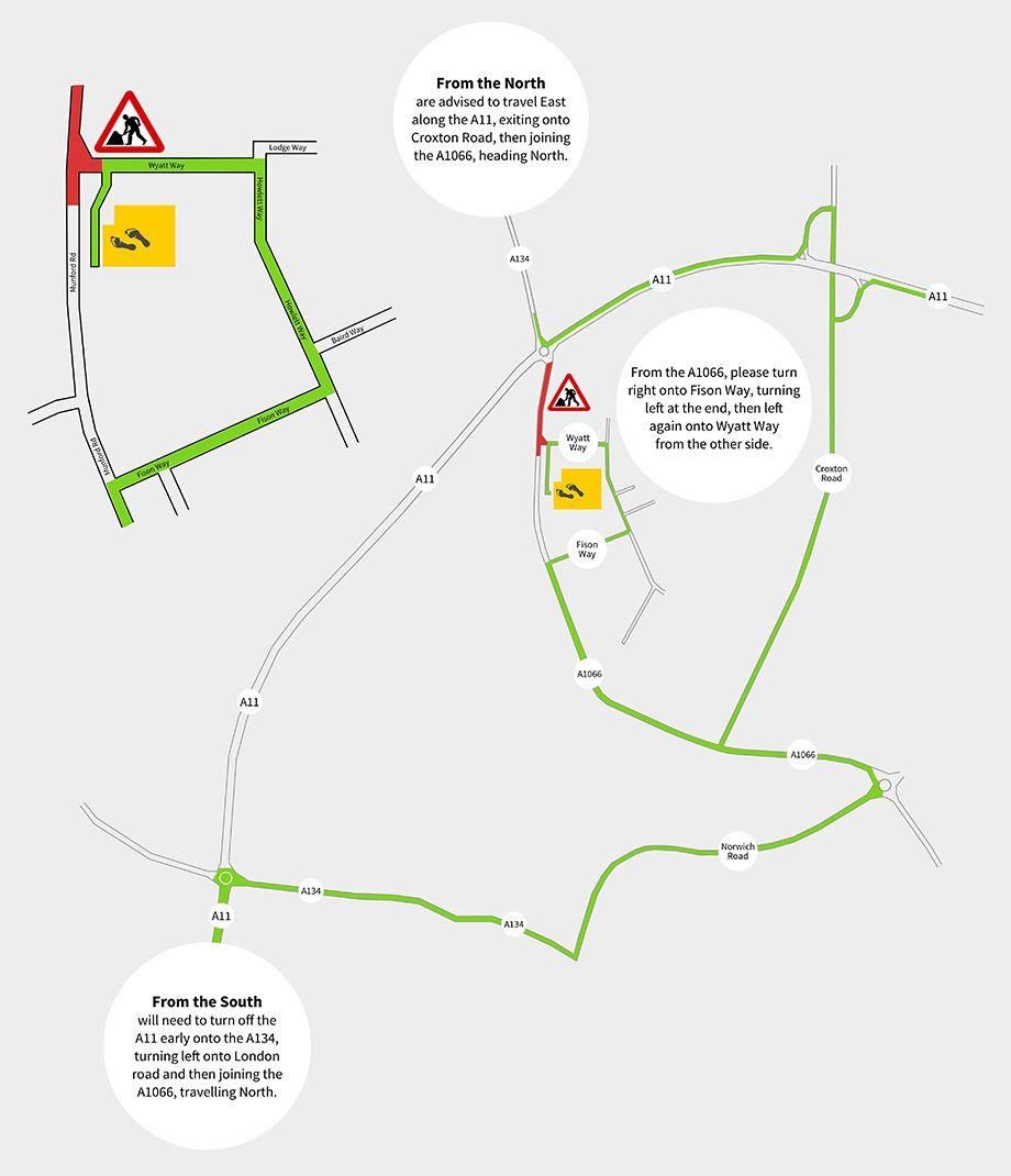 Roadworks Map