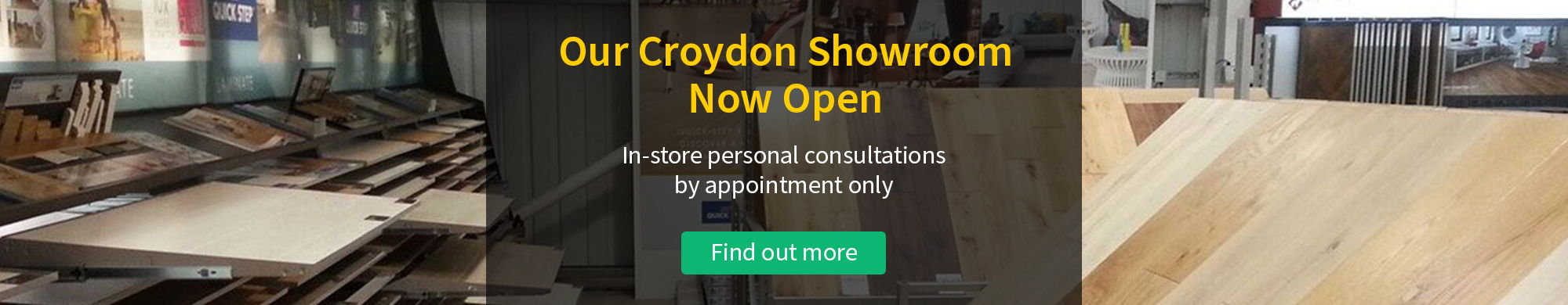 Croydon Showroom Open By Appointment Only