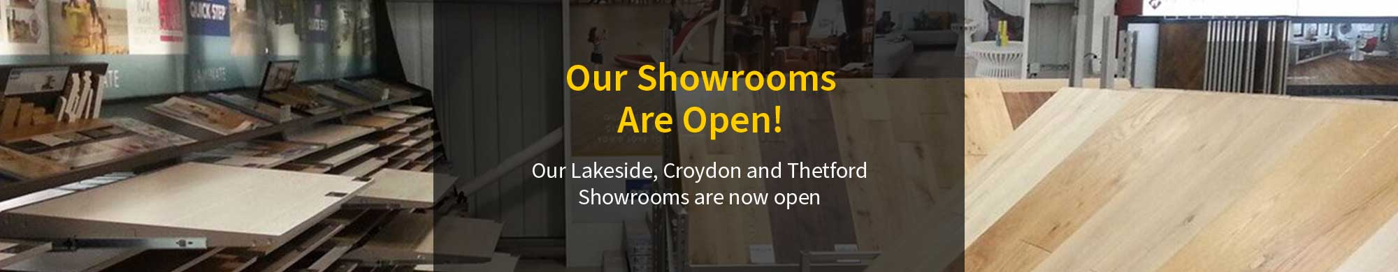 Stores Now Open!