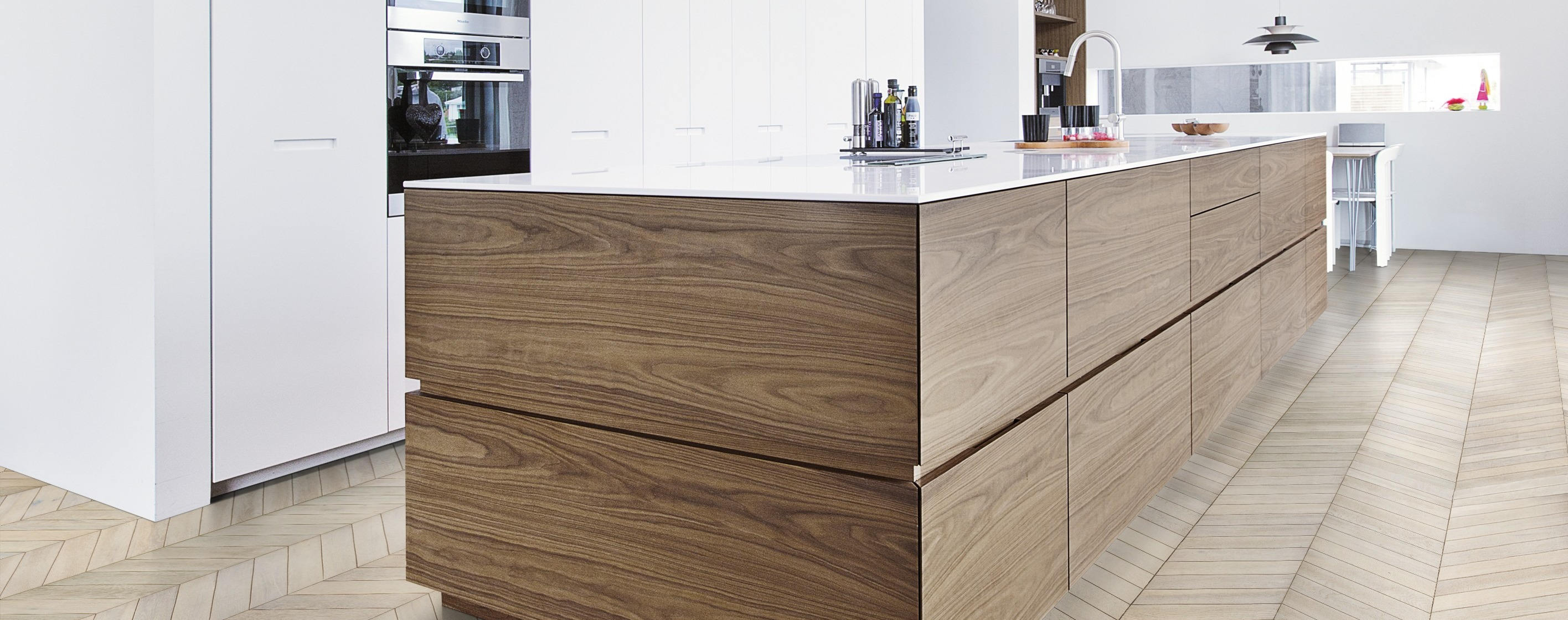 Kahrs chevron flooring for Chevron laminate flooring