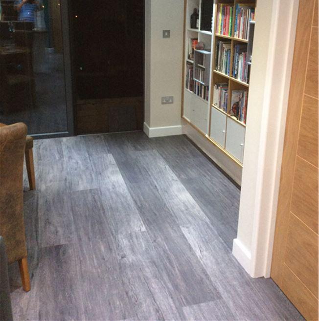 Karndean Looselay Longboard Wood Collection Raven Oak