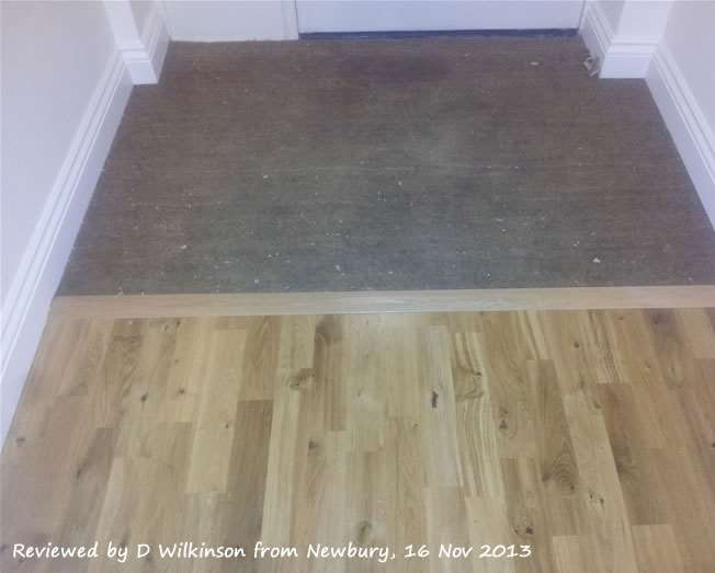 Kahrs Solid Wood Threshold Trim