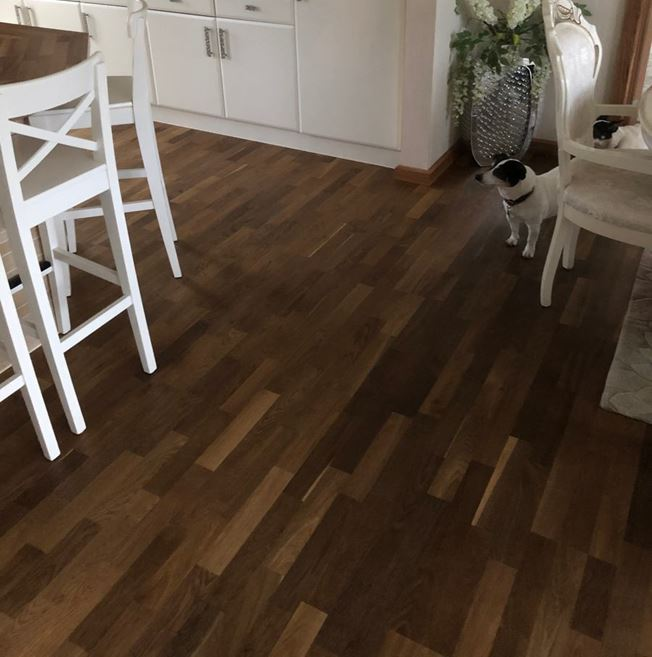 Kahrs Harmony Oak Smoke Engineered Wood Flooring
