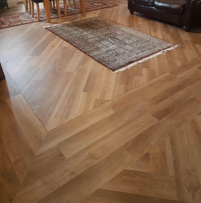 Karndean Knight Tile Pale Limed Oak KP94 Vinyl Flooring