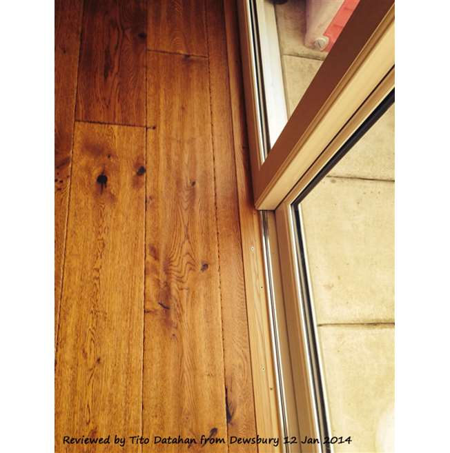Solid Oak Edge Profile 900mm