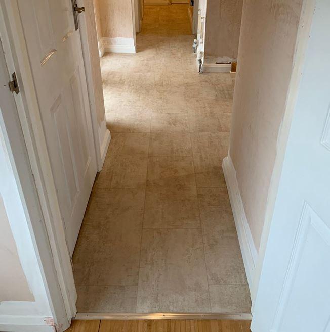 Quickstep Livyn Ambient Cream Travertine Vinyl Flooring
