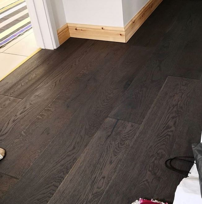 Kahrs Domani Oak Foschia Gra Engineered Wood Flooring