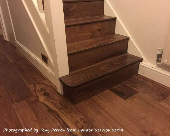 Natura American Black Walnut Ironbark Mississippi Engineered Wood Flooring