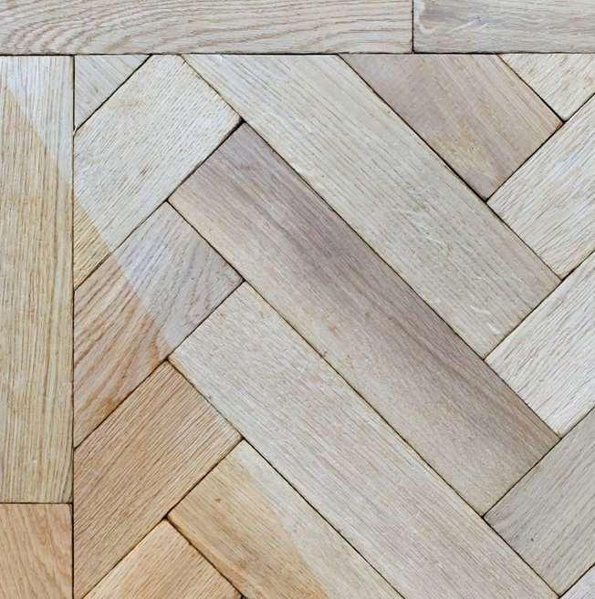 Traditional Solid Oak Parquet Blocks Prime Grade Unfinished