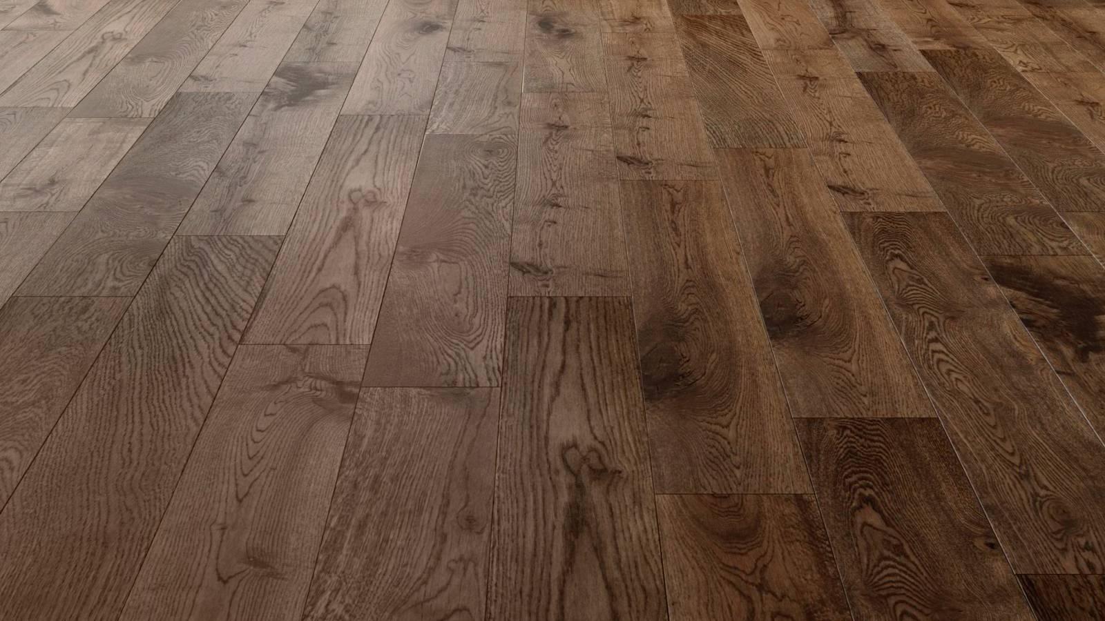 Natura european solid oak fumed antique wood flooring for Reclaimed teak flooring