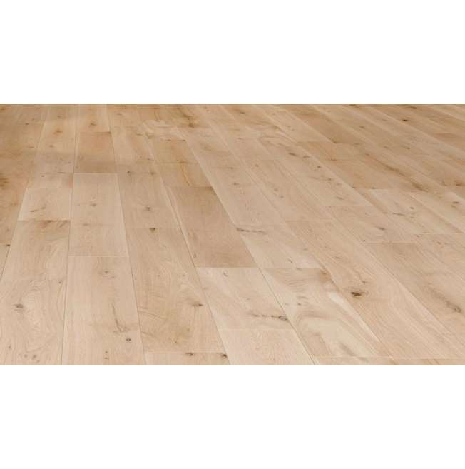 Natura Solid Oak Unfinished Wood Flooring