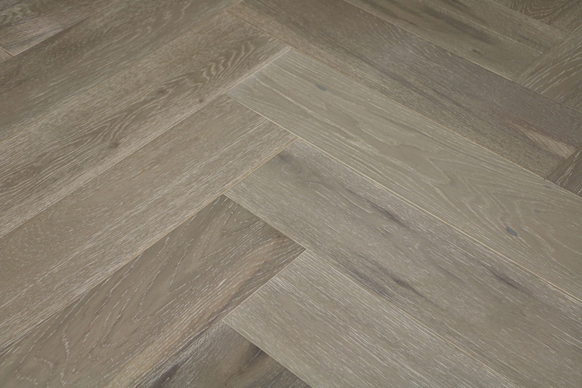 natura oak clay grey herringbone engineered parquet. Black Bedroom Furniture Sets. Home Design Ideas