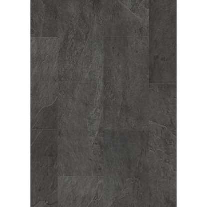 Quickstep Livyn Ambient Plus Black Slate AMCP40035 Vinyl Flooring