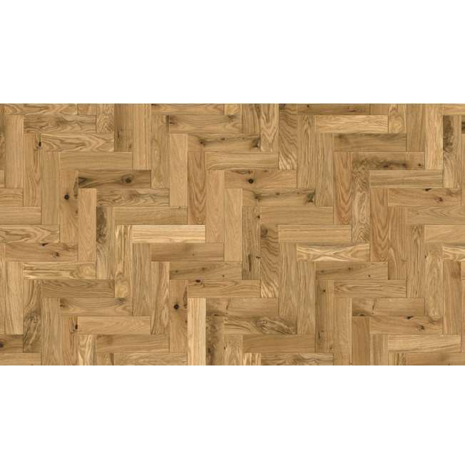 European Solid Oak Rustic Parquet Brushed and Oiled Flooring