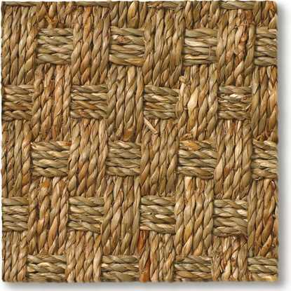 Seagrass Buckingham Basketweave Carpet