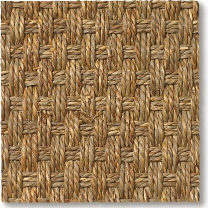 Seagrass Balmoral Basketweave Carpet
