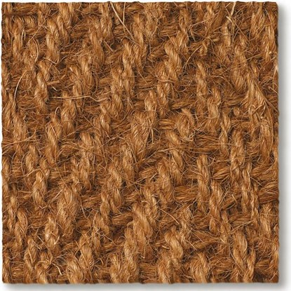 Coir Herringbone Natural Carpet