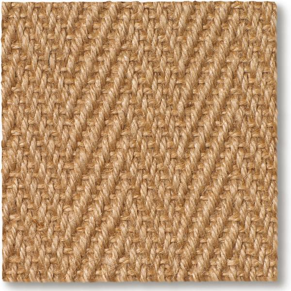 Jute Herringbone Natural Carpet