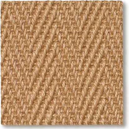 Jute Herringbone Natural Carpet