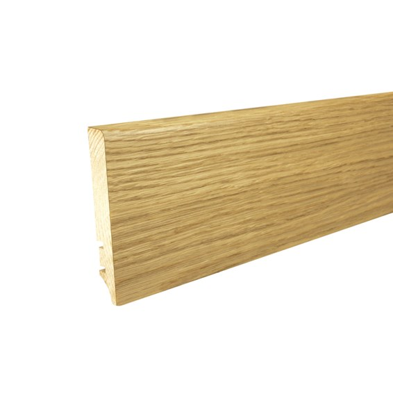 Oak Pencil Round Skirting Board 90mm x 2200mm