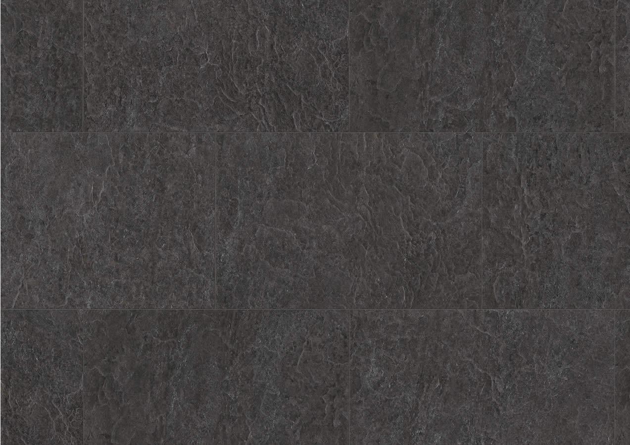 Laminate flooring black slate laminate flooring for Black laminate flooring