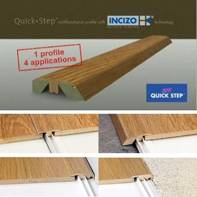 Quickstep Laminate Incizo Profile 13x48x2150mm