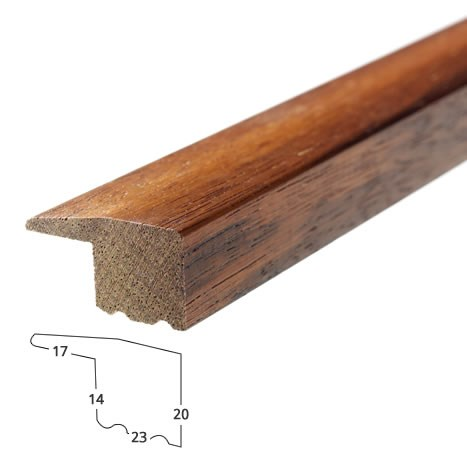 Solid Jatoba Edge Trim