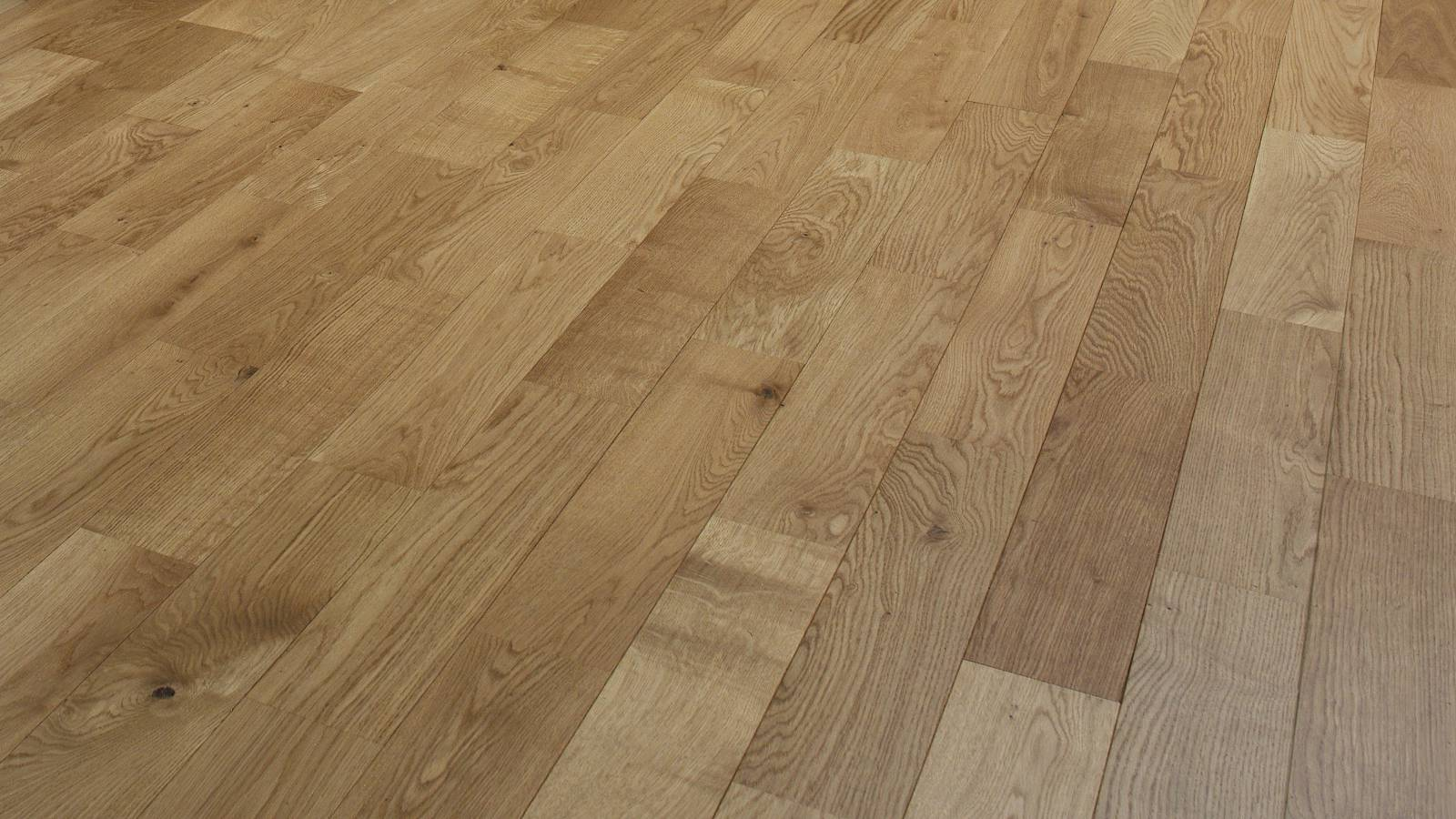 Junckers oak variation solid wood flooring for Real solid wood flooring