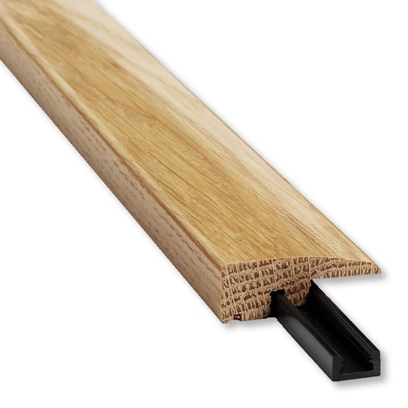 Kahrs linnea oak breeze engineered wood flooring for Floor edge trim