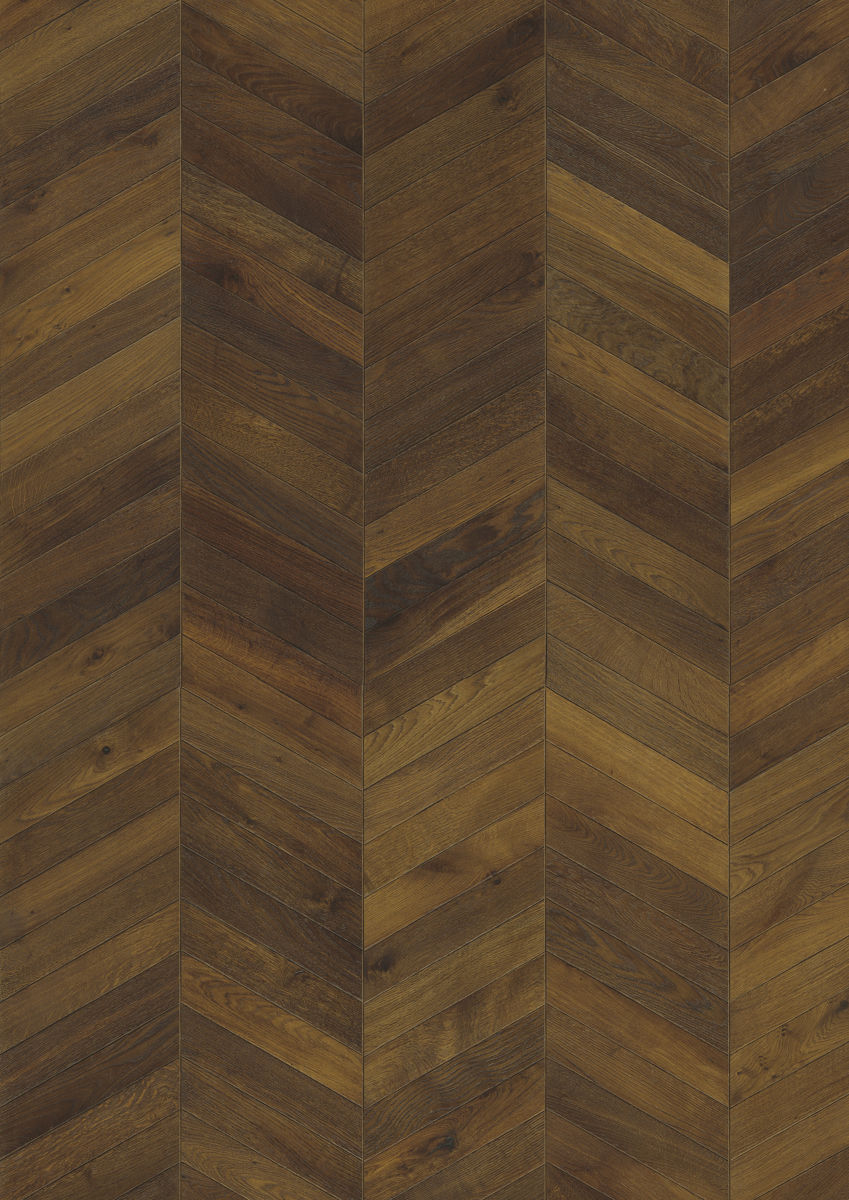 kahrs oak chevron dark brown engineered wood flooring. Black Bedroom Furniture Sets. Home Design Ideas