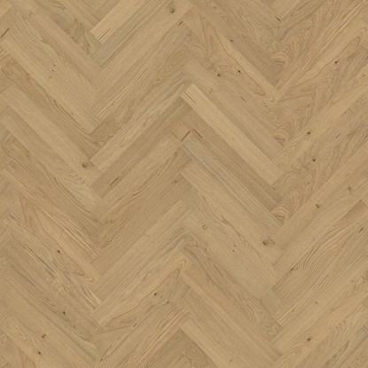 Kahrs Herringbone Oak Varberg Matt Parquet Flooring