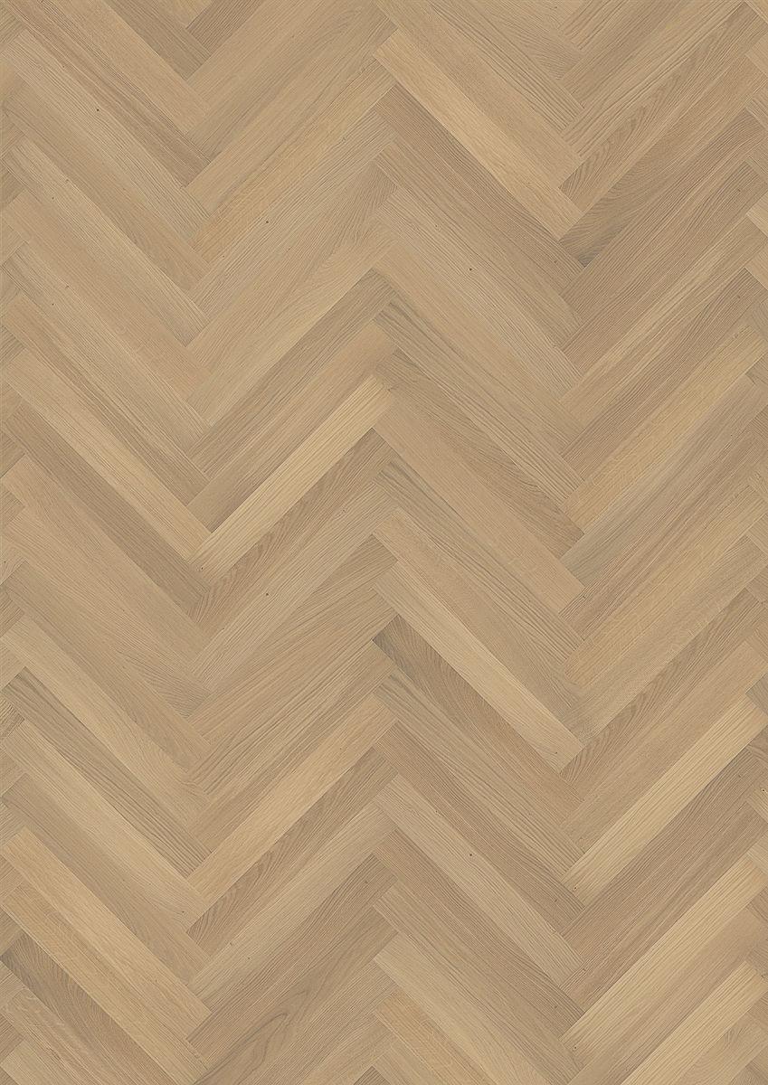 Kahrs oak herringbone ab white engineered wood flooring for Parquet hardwood flooring
