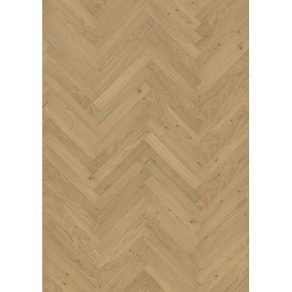 Kahrs Oak Herringbone CD Natural Engineered Wood Flooring