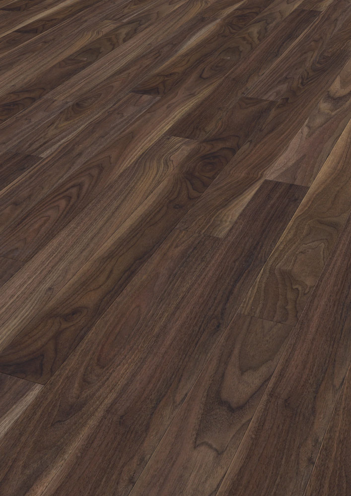 Marvelous Kaindl Natural Touch Rich Walnut Laminate Flooring