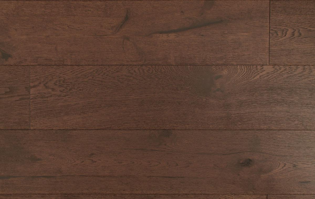 Natura By Kahrs Dark Brown Oak York Engineered Wood Flooring