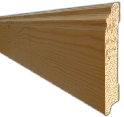 Unfinished Wood Products on Home Flooring Accessories Natura Solid Wood Unfinished Skirting 2 4m