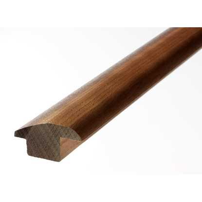 Solid Walnut Carpet and Tile Reducer Trim