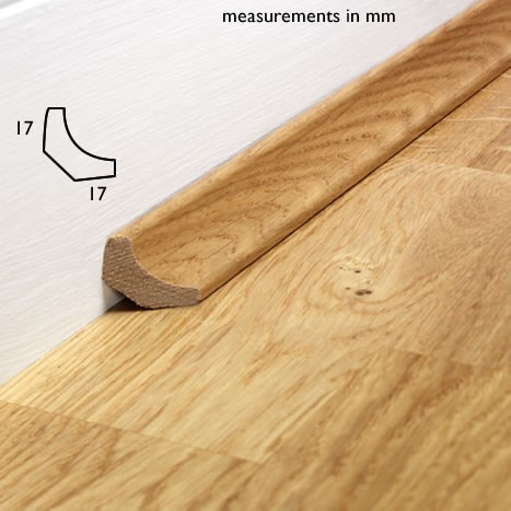 Natura Solid Oak Prefinished Scotia 2m