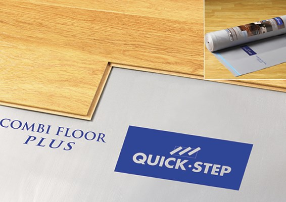 Quickstep basic plus underlay for Quick step uniclic flooring reviews