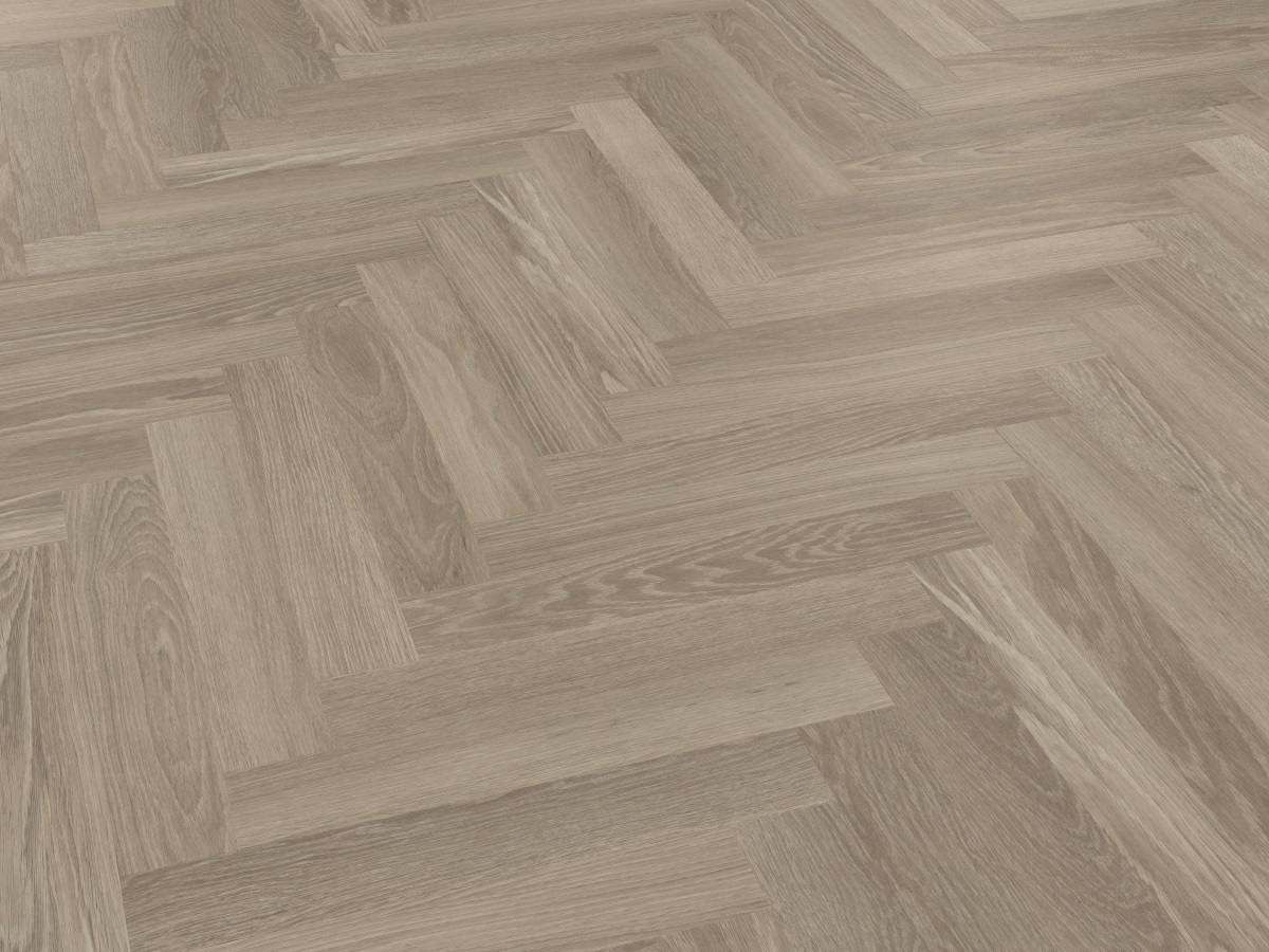 Karndean Knight Tile Grey Limed Oak Herringbone Sm Kp138