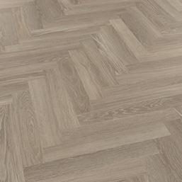 Karndean Knight Tile Grey Limed Oak SM-KP138 Parquet Vinyl Flooring