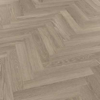 Karndean Knight Tile Grey Limed Oak Herringbone SM-KP138 Vinyl Flooring