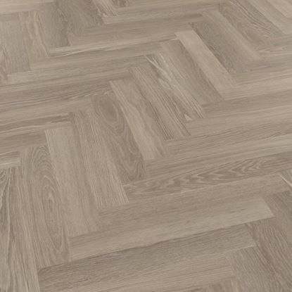 Karndean Knight Tile Grey Limed Oak SM-KP138 Parquet Vinyl Flooring