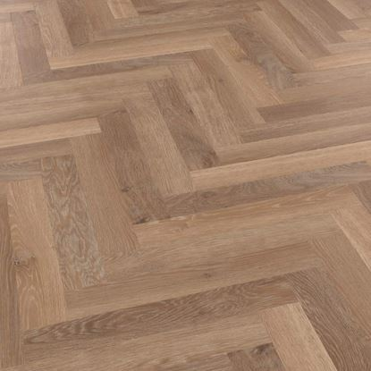 Karndean Knight Tile Pale Limed Oak Herringbone SM-KP94 Vinyl Flooring