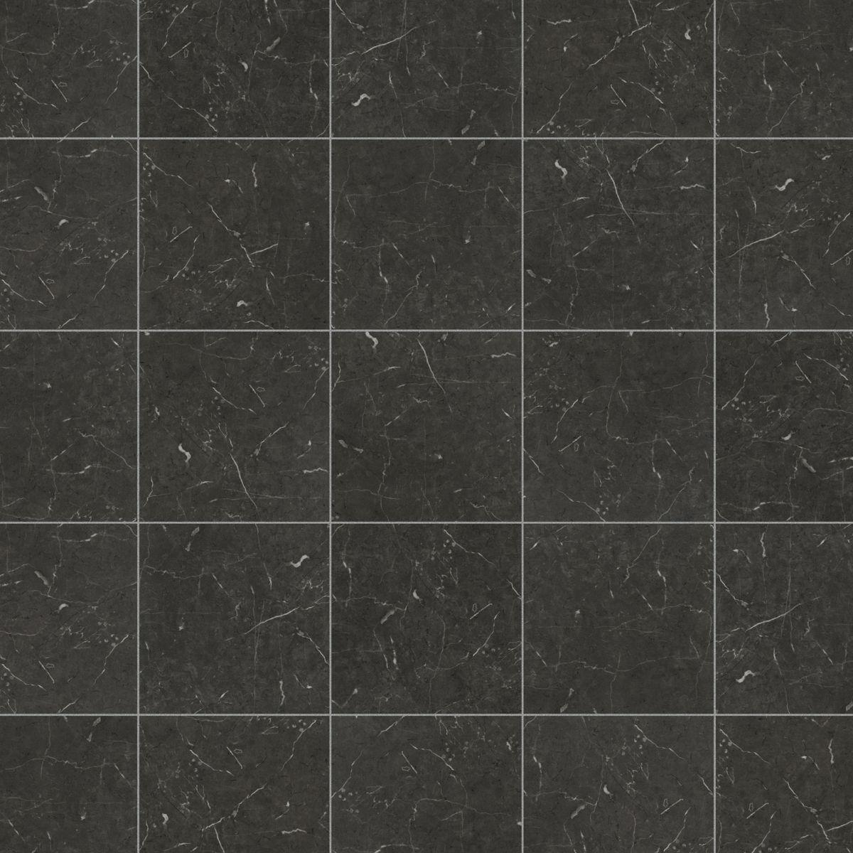 Karndean Knight Tile Midnight Black T74 Vinyl Flooring Interiors Inside Ideas Interiors design about Everything [magnanprojects.com]