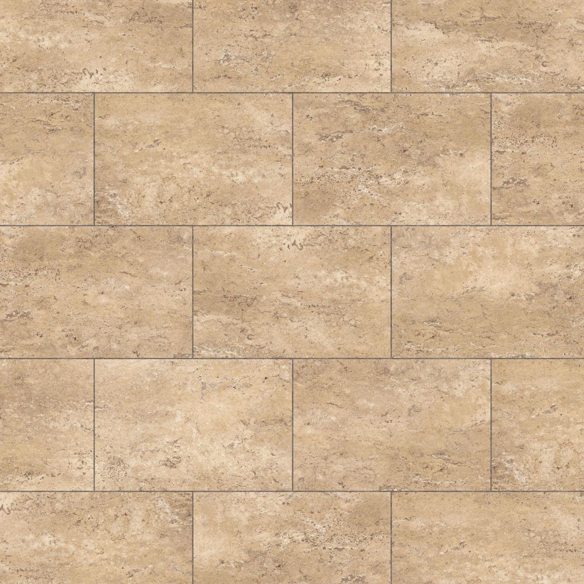 Thick vinyl floor tiles