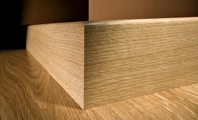 Kahrs oak trento engineered wood flooring for Wood skirting