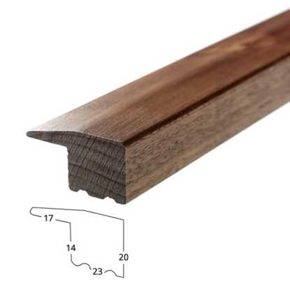 Solid Walnut Edge Trim