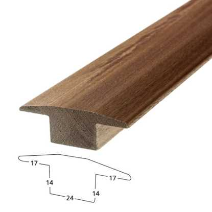 Solid Walnut Threshold Trim